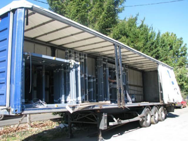 Atelier - rénovation bâtiment menuiserie metallique Ile de Ré