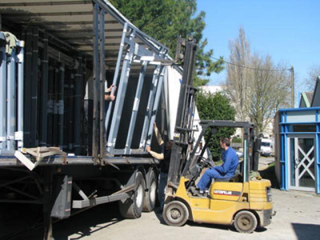 Atelier - rénovation bâtiment menuiserie metallique Poitou Charentes