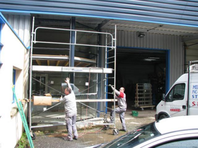 Atelier - rénovation bâtiment menuiserie metallique 79