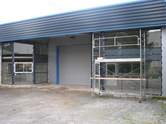 Atelier - rénovation bâtiment menuiserie aluminium 17