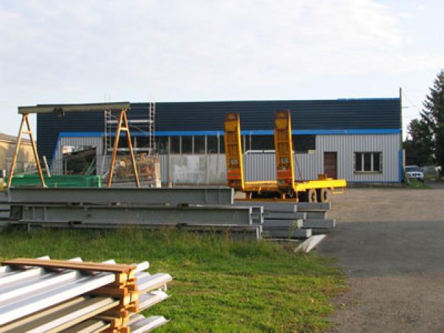 Atelier - rénovation bâtiment fenetre 17