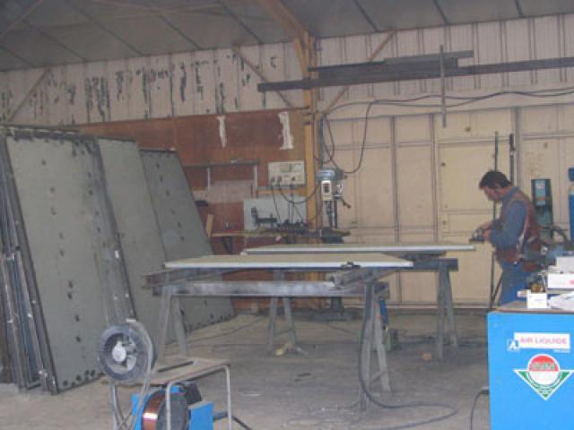 Atelier - rénovation bâtiment store 17