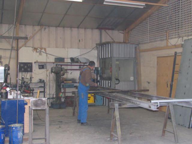 Atelier - rénovation bâtiment portail Ile de Ré