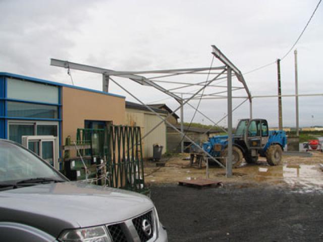 Atelier - rénovation bâtiment agencement de magasin Niort