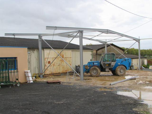 Atelier - rénovation bâtiment agencement de magasin Poitou Charentes