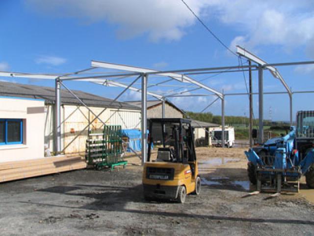 Atelier - rénovation bâtiment agencement de bureau Ile de Ré