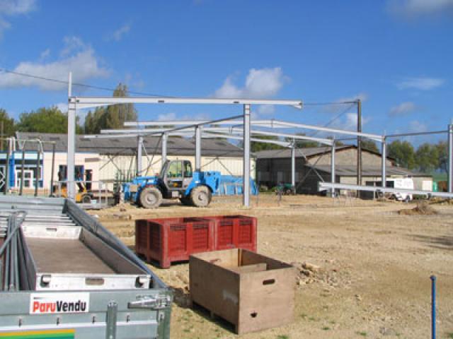 Atelier - rénovation bâtiment agencement de bureau Poitou Charentes
