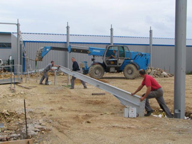 Atelier - rénovation bâtiment agencement de bureau 17