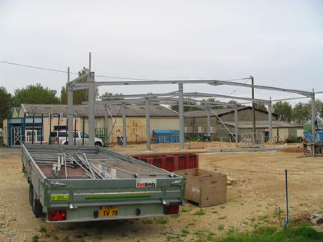 Atelier - rénovation bâtiment fenetre Poitou Charentes