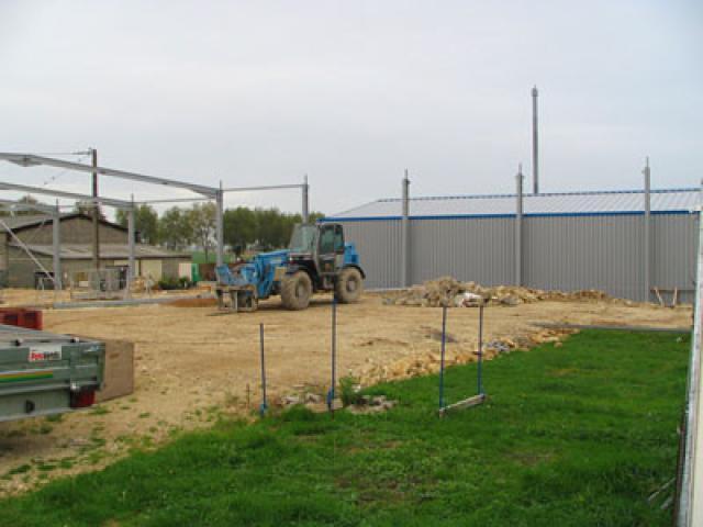 Atelier - rénovation bâtiment portail 79