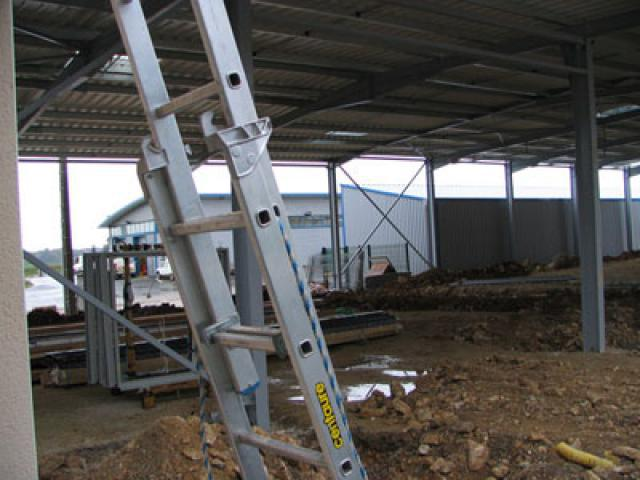 Atelier - rénovation bâtiment portail Niort