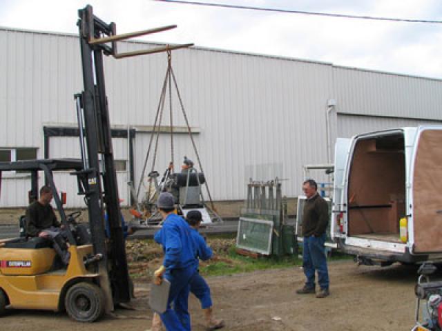 Atelier - rénovation bâtiment